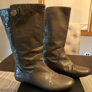 Grey Marc Jacobs boots